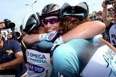 Tour de France - stage 5 - Tim De Waele - Cycling : 100th Tour de France 2013 / Stage 5 Arrival / Mark Cavendish (GBr)/ Jerome Pineau (Fra)/