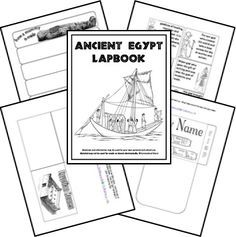 FREE Ancient Egypt Lapbook