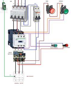 Esquemas eléctricos: marcha paro motor trifasico potencia y maniobra