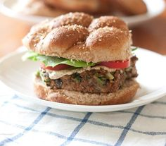 21 Vegetarian Burgers, Wraps, and Sandwiches to Make for Meatless Monday