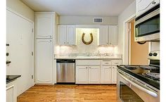 Cute white kitchen