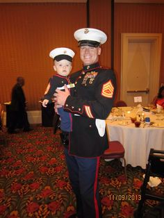 Marine corps baby USMC dress blues Marine Corps hat only you pick the size and colors Hobbyist License #21512 made to order by babypropsbyconnie on Etsy https://www.etsy.com/listing/222577287/marine-corps-baby-usmc-dress-blues