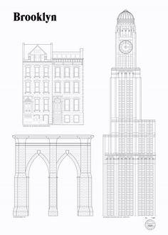 Studio Esinam – Brooklyn Landmarks