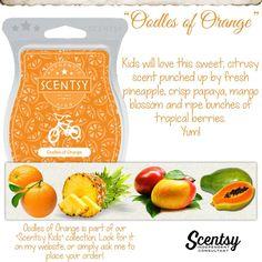 Oodles of Orange - Scentsy Kids