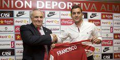 Francisco, al frente del Almería, será el técnico más joven de Primera División.