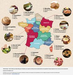 French Language Lessons, French Lessons, Kouign Amann, France Info, Culture Of France, Learn French Online, Confort Food, Food Map, Study French