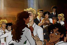 Looks Leo and Hazel