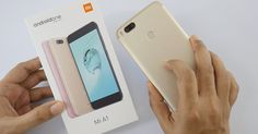 Global Version Xiaomi Mi A1 MiA1 Mobile Phone 4GB 64GB Snapdragon 625 Octa Core 12.0MP+12.0MP Dual Camera Android One