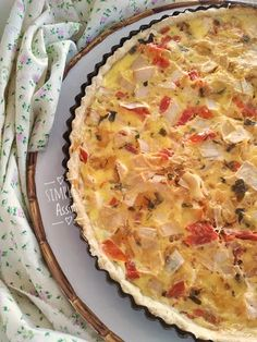 Quiches, Crepes, Waffles, Food And Drink, Pie, Desserts, Roast Recipes, Hearts Of Palms, Beverage