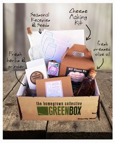 Homegrown Collective - Unlike Any Subscription Box I've Ever Seen #DIY #Gardening #HomeRemedies. This box is fantastic!