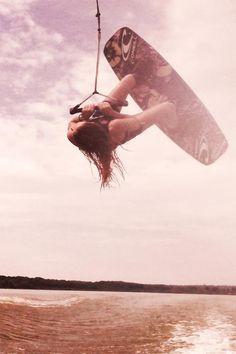 wakeboard women style !