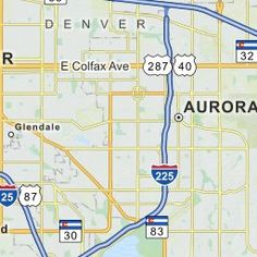 map of Colorado cities | Colorado | Pinterest | Colorado city and City