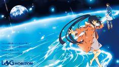 Akatsuki and Shiroe from the anime series Log Horizon
