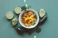 Sweet & Spicy Mango Guacamole | Free People Blog #freepeople