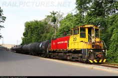 RailPictures.Net Photo: M&E 20 Morristown & Erie Railway EMD SW1500 at Morristown, New Jersey by Carl Perelman