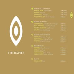 Therapies list