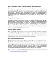 Why You Need To Partner with a Social Media Marketing Agency #social_media_consulting