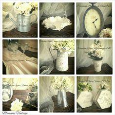 #Mancinivintage #romanticdecor #white #cottage #french #hydrangea #shabbychic #rimantic #vintagewedding