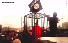 BURNED ALIVE: After last week's horrifying video of the captured Jordanian pilot being burned alive was released, ISIS has now captured 17 more soldiers, from Kurdistan, and is parading them before jeering, mocking crowds prior to setting them all on fire as they did the first one. #ISIS http://www.nowtheendbegins.com/blog/?p=30837