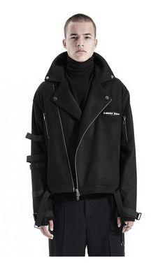 Filip Roth wool strap jacket