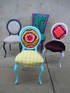 the divine chair : not normally my style but I couldn't go past the eye catching colour. I like!