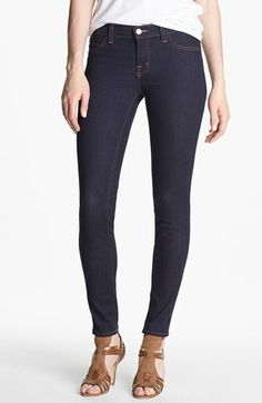 J Brand Stretch Denim Leggings (Starless Wash) available at #Nordstrom