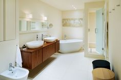 Create a wow-factor washroom with this selection of inspirational bathroom projects