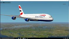 Free Airbus A380-800 for Xplane 10 quick look