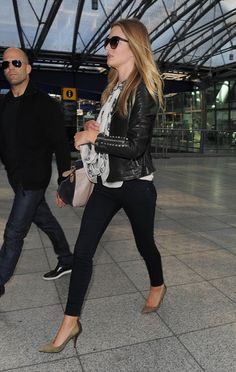 Rosie Huntington-Whiteley. I love her style. And hair. And face. Aand everything