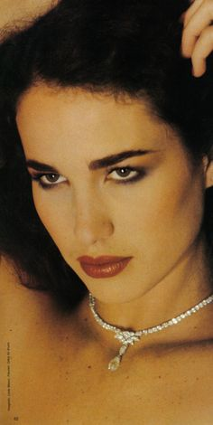 Beauty.       Andie MacDowell by Dick Ballarian, Vogue 1980. What a capture.