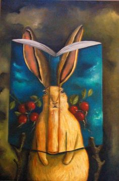 Rabbit picture for nursery