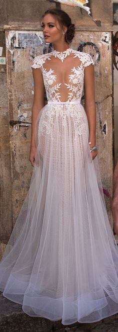 MUSE by Berta Sicily Wedding Dress Collection | #BERTA #WeddingDress #BridalGown #Bride