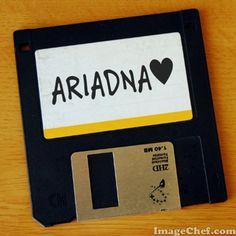 Nombre Ariadna / Name Ariadna / Ariadna / nombre / name / diskquete / disckete