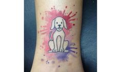 41 Dog Tattoos to Celebrate Your Four-Legged Best Friend: Man's best tattoos