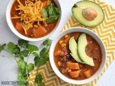 Sweet potatoes add a subtle sweetness to balance the heat for a unique twist on a classic tortilla soup. Step by step photos.