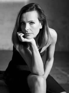 Carole Bouquet (1957) - French actress an fashion model. Photo by Christian Kettiger