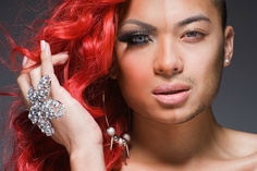 Half-drag, fotos de drag queens maquiados pela metade   MADMAG