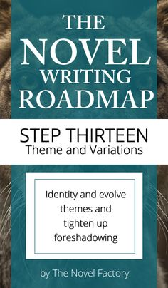 Novel Writing Guide Step Thirteen - Theme and Variation