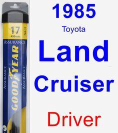Driver Wiper Blade for 1985 Toyota Land Cruiser - Assurance
