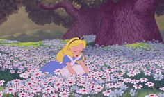 New party member! Tags: disney flowers spring alice in wonderland