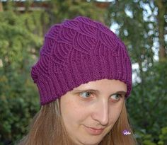 Комплект для Русалочки - шапочка и митенки спицами