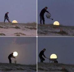 jardinage de lune