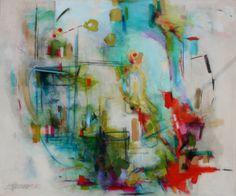 Beach Rental by Beth Hammack 60x72 Acrylic $3400