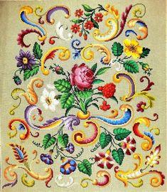 A Very Elaborate Berlin WoolWork Patternt