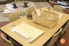 Provocations can be overwhelming. Let's take a look at some simple ideas for literacy provocations found in a Reggio-Inspired Preschool. Emergent Literacy, Preschool Literacy, Early Literacy, Classroom Activities, Classroom Ideas, Shape Activities, Letter Activities, Kindergarten Centers, Teaching Kindergarten