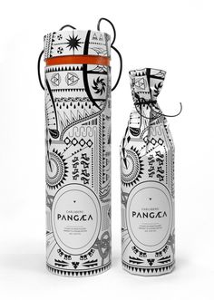 PANGÆA by Louise Dupont, via Behance #beer loving #packaging peeps PD