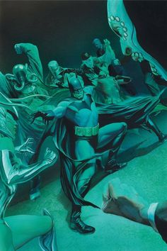 Batman and Robin by Alex Ross Alex Ross, Comic Book Characters, Comic Character, Comic Books Art, Book Art, Arte Dc Comics, Batman Begins, Bob Kane, Batman Universe