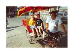 Rickshaw in Beijing - China