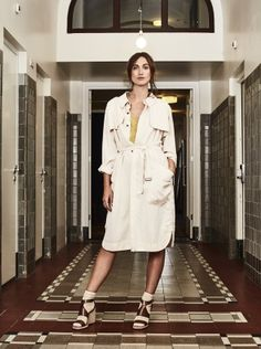 Trench coat Tencel Alchemist, Trench, Must Haves, Shirt Dress, Winter Coats, How To Wear, Shirts, Inspiration, Beautiful