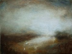 ARTFINDER: Beyond by Kerr Ashmore - Atmospheric abstract landscape painting